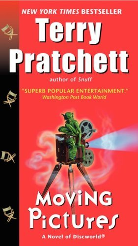 Terry Pratchett Moving Pictures A Novel Of Discworld