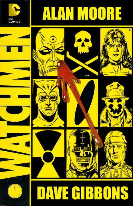 Alan Moore Watchmen The Deluxe Edition