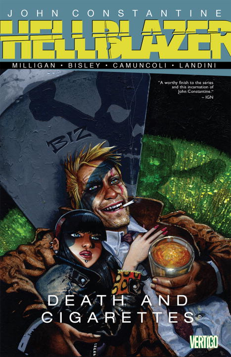 Peter Milligan John Constantine Hellblazer Death And Cigarettes