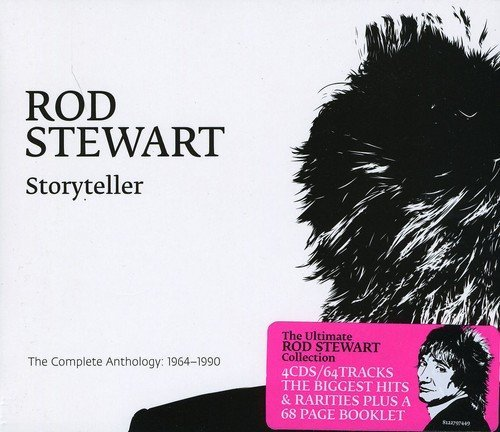 Rod Stewart Storyteller The Complete Antho Import Aus 4 CD