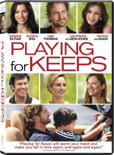 Playing For Keeps Butler Biel Zeta Jones Quaid Aws Pg13 Incl. Uv