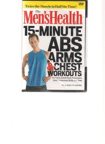 Men's Health 15 Minute Abs Arms & Chest Workouts