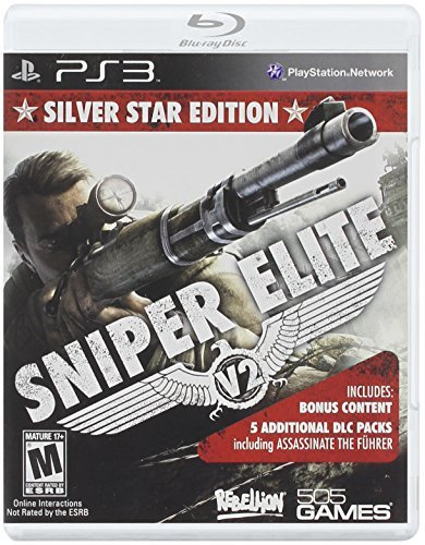 Ps3 Sniper Elite V2 Silver Star Edition