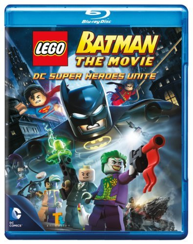 Lego Batman Lego Batman The Movie Dc Super Heroes Unite Blu Ray DVD Uv Pg13 Ws