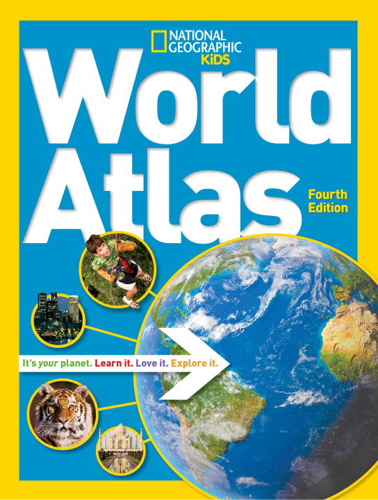 National Geographic World Atlas 0004 Edition;