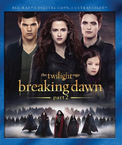 Twilight Breaking Dawn Part 2 Pattinson Stewart Lautner Blu Ray Dc Uv Pg13 Ws