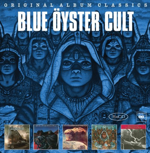 Blue Oyster Cult Original Album Classics Import Gbr 5 CD