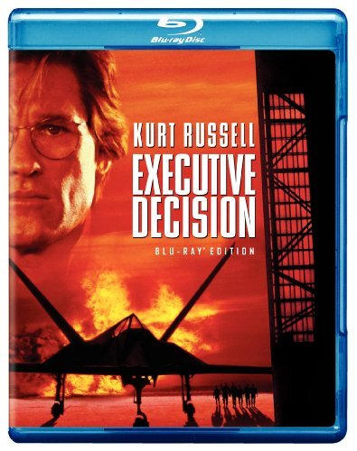 Kurt Russell Halle Berry Executive Decision [blu Ray] Blu Ray
