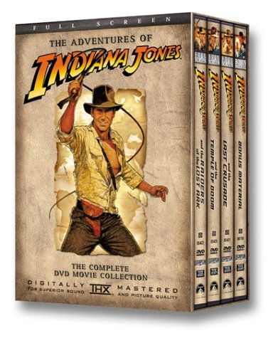 Harrison Ford Steven Spielberg The Adventures Of Indiana Jones The Complete DVD