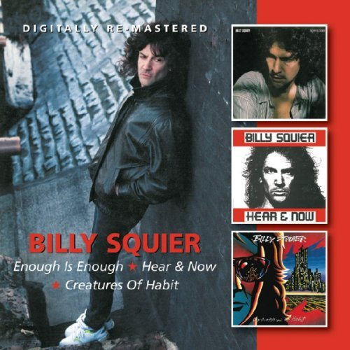 Billy Squier Enough Is Enough Hear & Now Cr Import Gbr 2 CD Remastered