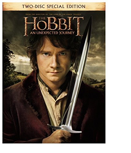 Hobbit An Unexpected Journey Mckellen Freeman Armitage Theatrical Cut DVD Uv Pg13