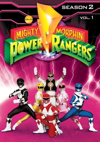 Mighty Morphin Power Rangers Season 2 Volume 1 DVD Tvy7 3 DVD
