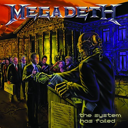 Megadeth System Has Failed Import Eu