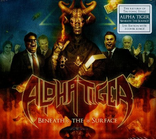 Alpha Tiger Beneath The Surface Limited Import Eu