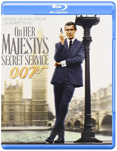 James Bond On Her Majesty's Secret Service Lazenby Rigg Savalas Ferzetti Pg Blu Ray Ws
