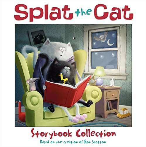 Rob Scotton Splat The Cat Storybook Collection