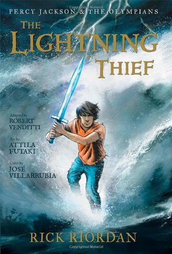 Rick Riordan Lightning Thief The