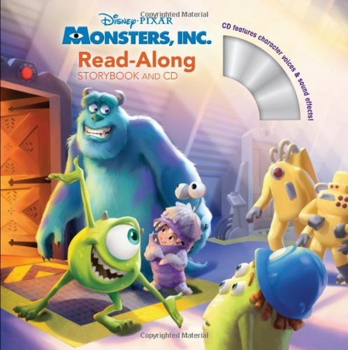 Disney Press Monsters Inc. Read Along [with CD (audio)]
