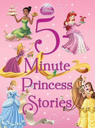 Disney Book Group 5 Minute Princess Stories
