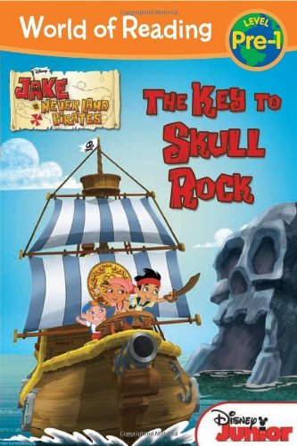 Disney Book Group World Of Reading Jake And The Never Land Pirates The Key To Skull