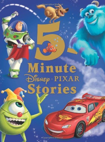 Disney Book Group 5 Minute Disney Pixar Stories