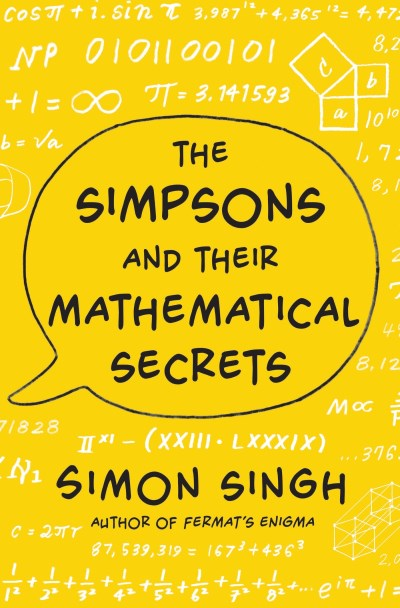 Simon Singh Simpsons And Their Mathematical Secrets The