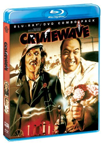 Crimewave Lasser Smith James Campbell Pg13 Incl. DVD