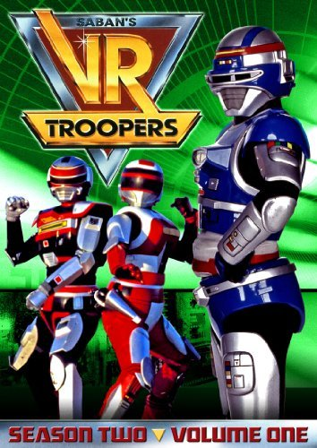 Vr Troopers Vol. 1 Season 2 Vr Troopers Y7 3 DVD