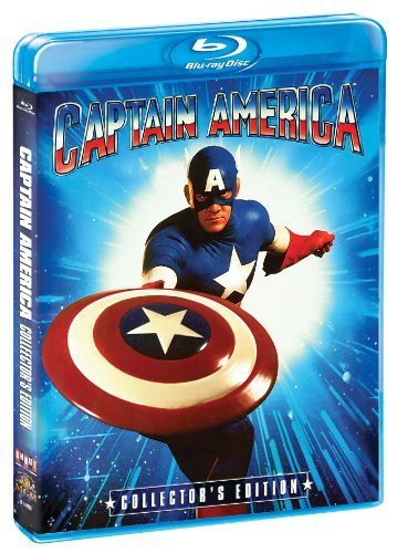 Captain America Collector's Edition Salinger Beatty Cox Blu Ray Ws Pg13
