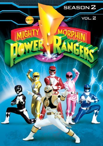 Mighty Morphin Power Rangers Season 2 Volume 2 DVD Y7 3 DVD