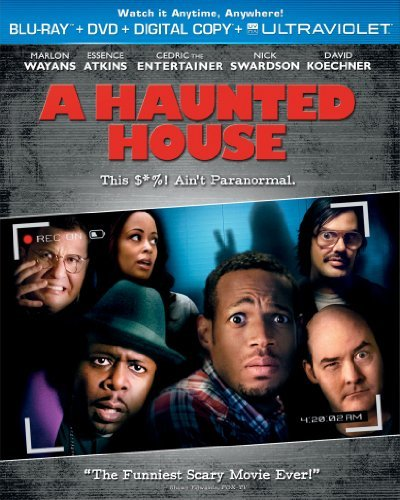 Haunted House Wayans Atkins Swardson Koechne Blu Ray Ws R DVD Dc Uv