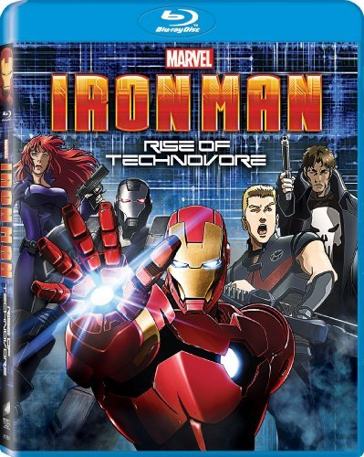 Iron Man Rise Of The Technovo Iron Man Rise Of The Technovo Blu Ray Ws Pg13