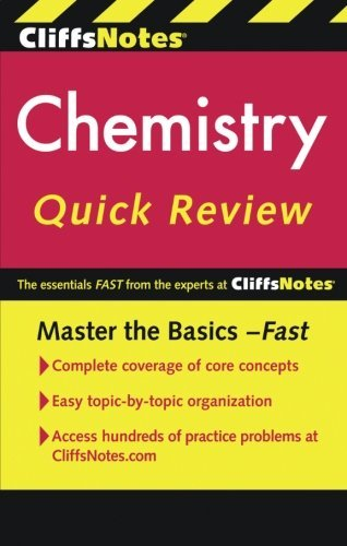 Robyn L. Ford Cliffsnotes Chemistry Quick Review 0002 Edition;