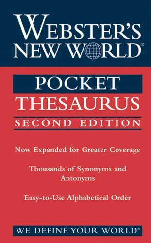 Sister Agnes Webster's New World Pocket Thesaurus