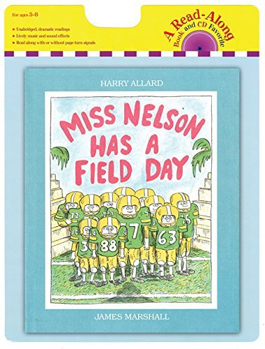 Harry G. Allard Miss Nelson Has A Field Day Book And CD