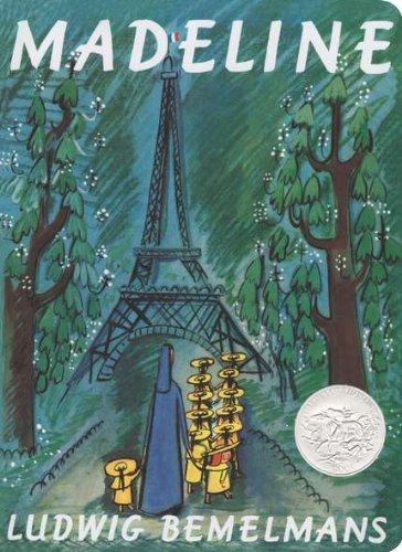 Ludwig Bemelmans Madeline Board Book Abridged