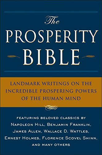 Charles F. Haanel The Prosperity Bible Landmark Writings On The Incredible Prospering Po