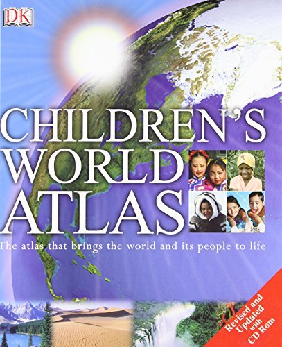 Simon Adams Children's World Atlas [with Cdrom] Revised Update