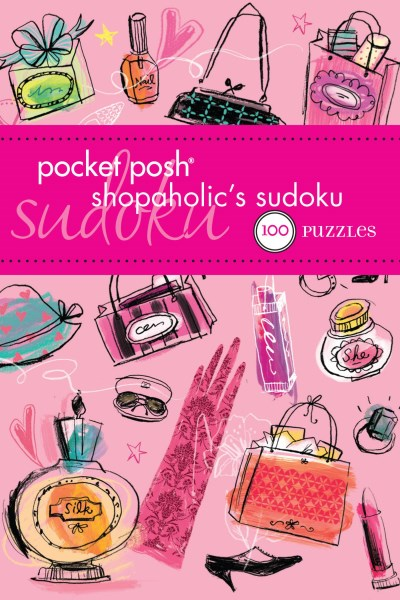 The Puzzle Society Pocket Posh Shopaholic's Sudoku 100 Puzzles