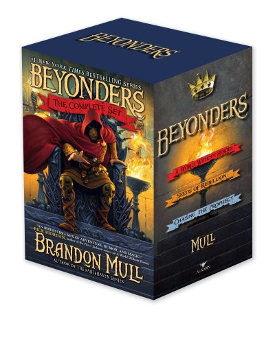 Brandon Mull Beyonders The Complete Set