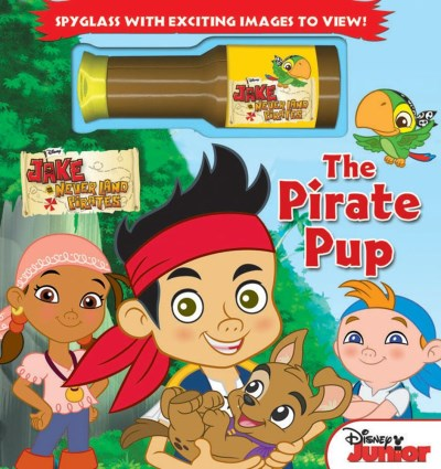 Disney Jake And The Neverland Pirates The Pirate Pup [with Spyglass]