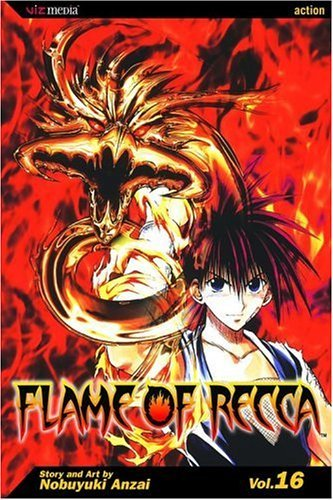 Nobuyuki Anzai Flame Of Recca Volume 16