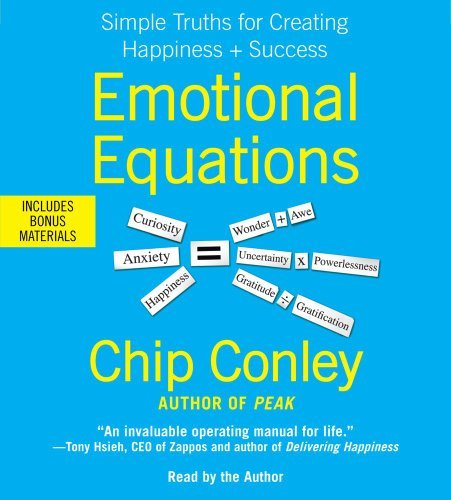 Chip Conley Emotional Equations Simple Truths For Creating Happiness + Success