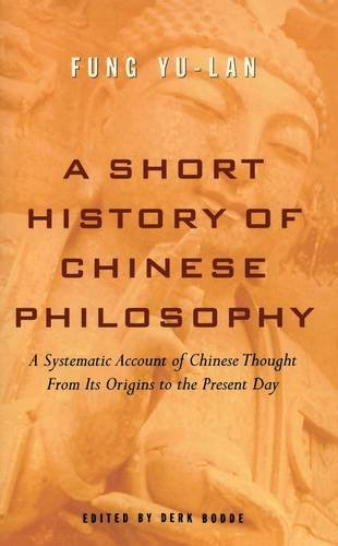 Feng Youlan A Short History Of Chinese Philosophy
