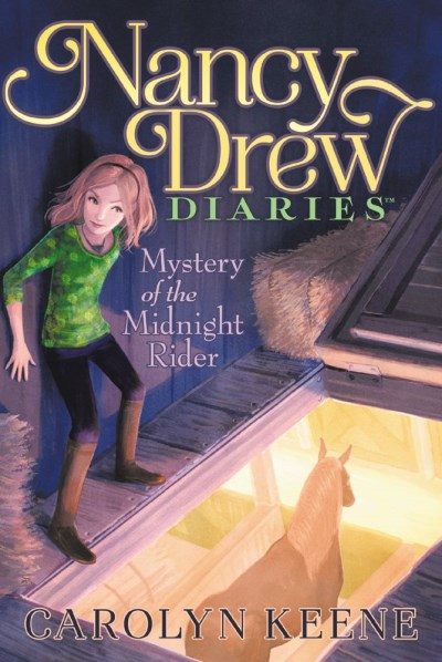 Carolyn Keene Nancy Drew Diaries Mystery Of The Midnight Rider