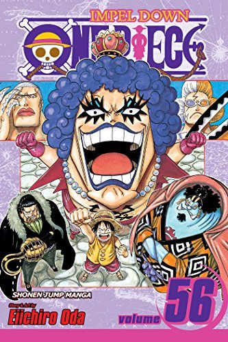 Eiichiro Oda One Piece Volume 56 Impel Down Part 3