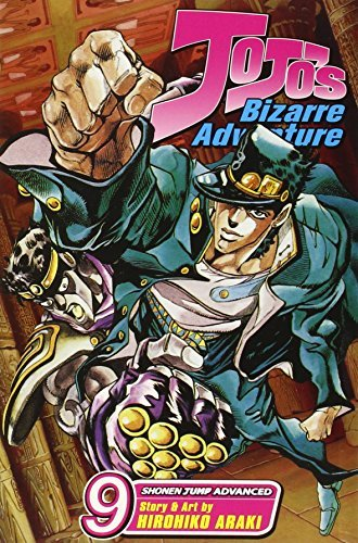 Hirohiko Araki Jojo's Bizarre Adventure Part 3 Stardust Crusaders Vol. 9