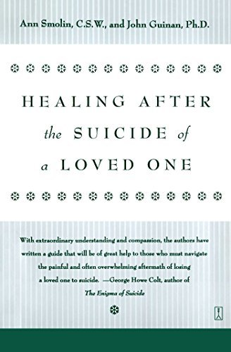 Ann Smolin Healing After The Suicide Of A Loved One
