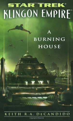 Keith R. A. Decandido A Burning House