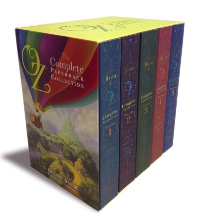 L. Frank Baum Oz The Complete Paperback Collection Oz The Complete Collection Volume 1; Oz The Co Boxed Set